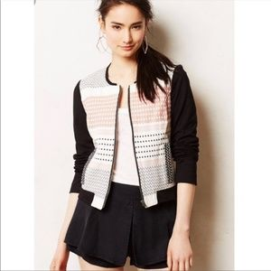 NWT Anthropologie Ella Moss Emrboidered Jacket B9